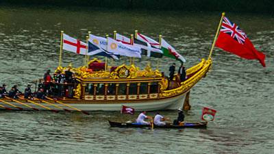 Highlights of the Queens Diamond Jubilee on the Thames, London