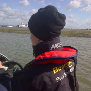 Letter to Steve Dimmer, Chief Instructor at Southsea Marina Sea School