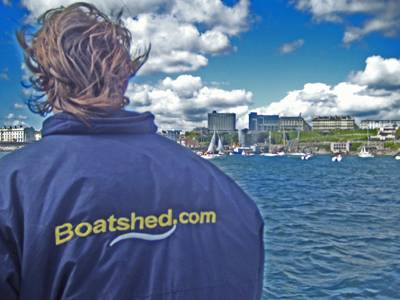 Boatshed Plymouth welcomes Gypsy Moth IV home