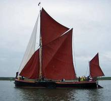 The 2012 Pin Mill Smack Race