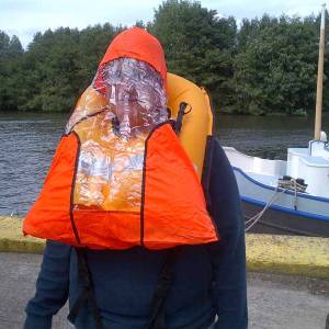 RNLI flare amnesty and lifejacket check 1/7/2012 on the Thames