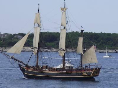 Tall Ships In Newport RI