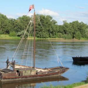 Les voiliers de la Loire et les vins de la Côte Roannaise