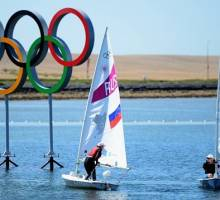 The Olympic Sailing Begins!