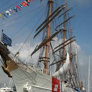 USCGC Eagle in Newport Rhode Island