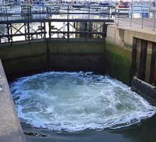 Shotley Marina Lock Closure 20th August 2012