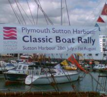 Plymouth Classic Boat Rally in town