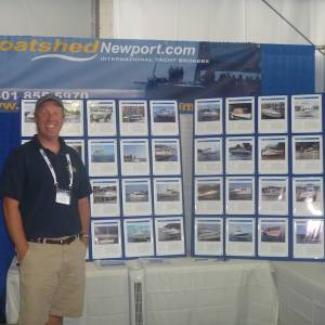 Day 1 of the 42nd Newport International Boat Show