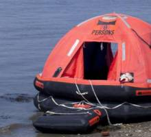 Marine Industry ladies spend 24 hours in a liferaft