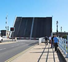 Haven Bridge Lowestoft Maintenance Works