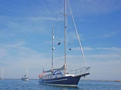 Bruce Roberts designed yachts.