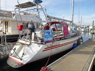 Just Listed, Rare Danish Helmsman 47 Sailboat