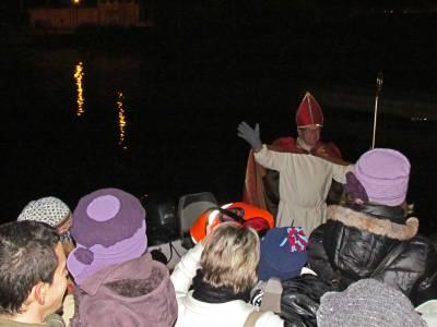 Saint Nicolas sets off the festive season