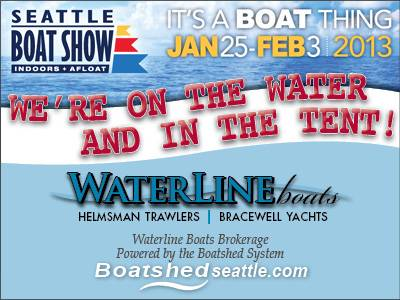 Seattle Boat Show - We're On The Lake!