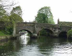 Bishops Bridge, River Wensum