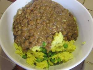 From the Galley - LENTIL CURRY