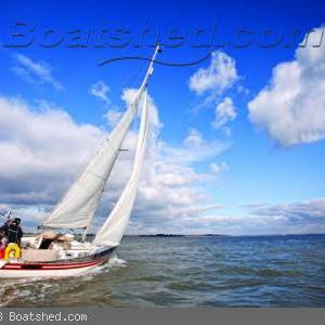 See this beautiful Scanmar 33 in Sailing Today!
