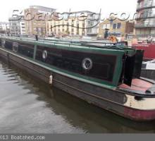 Probably The Best Mooring In London - with Boat