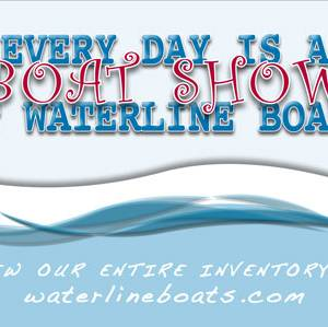 Everyday Is A Boat Show At Waterline Boats!