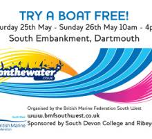 Invitation to Try A Boat Free! Dartmouth