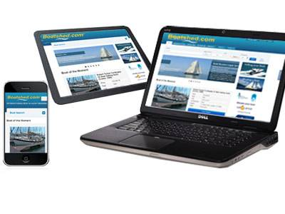 Boatshed goes responsive