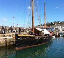 Restored Brixham trawler, Pilgrim, to make debut at  BMF South West annual Try a Boat Free!