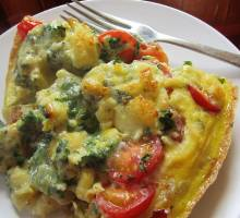 From the Galley - HURD's DEEP FRITTATA