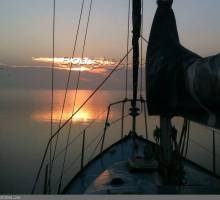 Why not sail off into the sunset?
