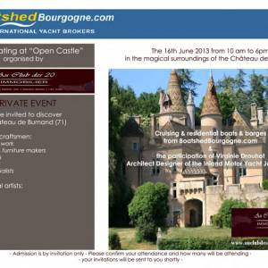 Boatshed Bourgogne Open Castle