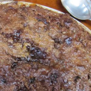 From the Galley - Bread and butter pudding