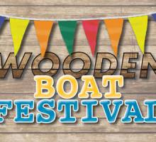 It's the 37th Annual Wooden Boat Festival!