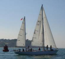 Gipsy Moth IV, Lively Lady and Suhaili race together at last!
