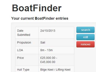 Use BoatFinder to search for your next boat