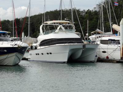 Just Listed 45' Power Cat