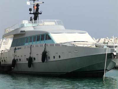 Why this Superyacht is Grey
