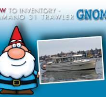 New To Inventory - Camano 31 Gnome
