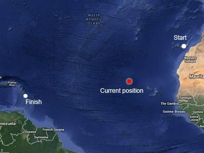 Capibara Atlantic crossing: Day 18