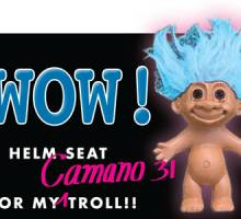 Wow! A Helm Seat for My (Camano) Troll...