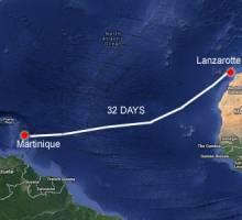 Capibara reached Martinique 18/12 15.42