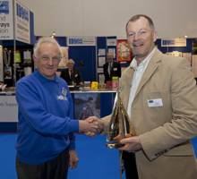 IWA Award for 60 Years at the London Boat Show
