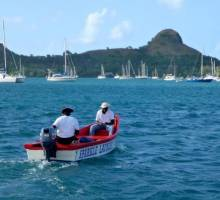 Capibara cruising blog - Accidents rarely come alone