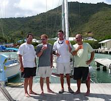 BVI Spring Regatta - Boatshed BVI outdo the competition