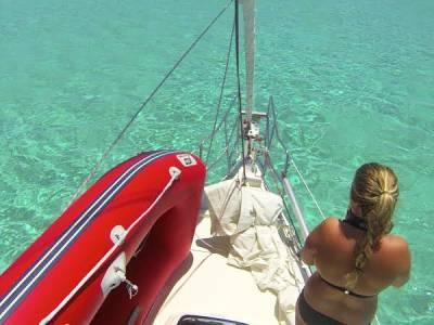Capibara - Barbuda - Being at anchor versus being in a marina