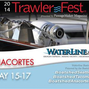 Waterline Boats at 2014 Trawler Fest – Anacortes