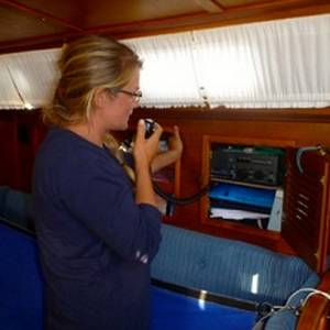 Capibara - Salty Dawg rally, SSB chats, 200 miles from Bermuda