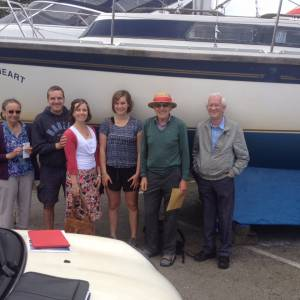 Happy Boat Buyers at Boatshed Chichester