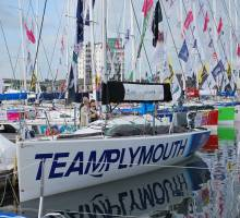 Solitaire du Figaro in Plymouth