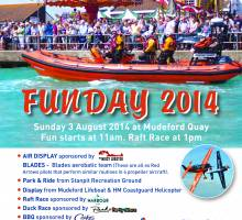 MUDEFORD RNLI FUNDAY 2014