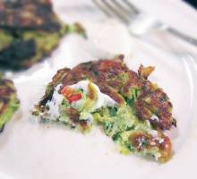 From the Galley - Courgette Fritters