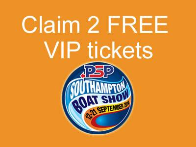 Claim 2 FREE VIP day tickets for the 2014 PSP Southampton boat show